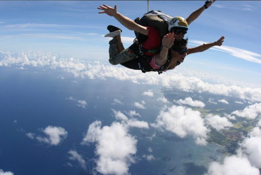Jumping From 13,000 Feet.