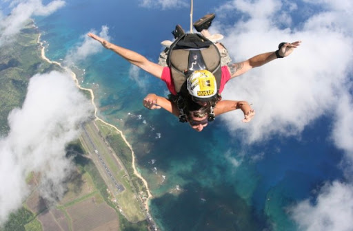 Jumping From 13,000Feet